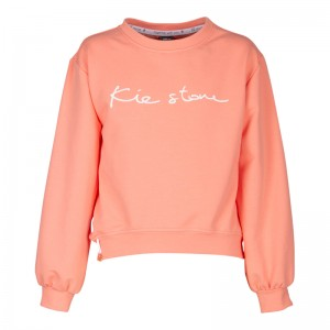 KIE stone Sweat-Shirt/Sweater coral
