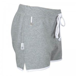 KIE stone Jersey Short grey mele