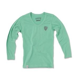 Vingino Langarm-Shirt/Longsleeve V-Neck KENIA green
