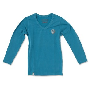 Vingino Langarm-Shirt/Longsleeve V-Neck KENIA ink blue