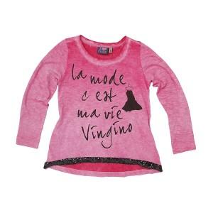 Vingino Langarm-Shirt/Longsleeve KRETA persian pink