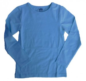 Paglie Basic Langarm-Shirt/Longsleeve mint (blue light)