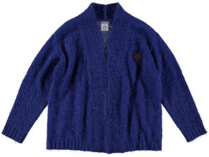 RETOUR Strick-Jacke/Cardigan LILIA bright blue