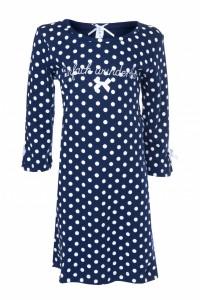 Louis & Louisa Mädchen Nachthemd EINFACH WUNDERBAR blau allover