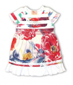 Pezzo D´oro Kleid multicolor