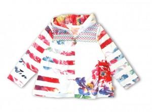 Pezzo D´oro Sweat-Jacke multicolor