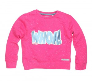 Moodstreet Sweater / Pullover WHOA! cool pink