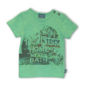 Pezzo D´oro Basic T-Shirt grün