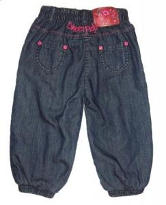Paglie Mini Winter-Jeans pumpig Stickerei