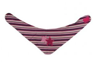 Paglie Mini Wende-Dreicks-Tuch Streifen