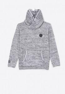 Kaporal Strick-Pullover Schalkragen MUCK dark grey mel