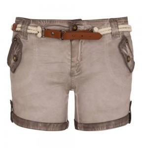 Million X Shorts cold dye in rose beige