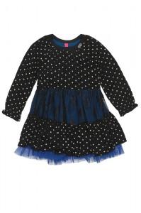 Mim-Pi Kleid Dots schwarz