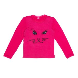 Mim-Pi Langarm-Shirt/Longsleeve Pussycat orange