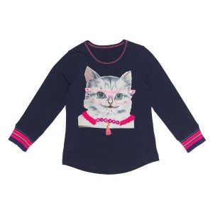 Mim-Pi Langarm-Shirt/Longsleeve Pussycat navy