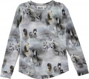Molo Mädchen Langarm-Shirt ROXANA Pony jersey
