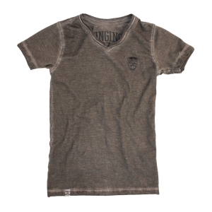 Vingino T-Shirt V-Neck HYLKE dark stone
