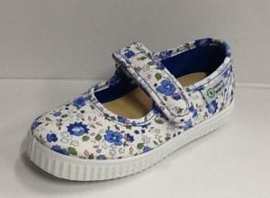 NATURAL WORLD Mädchen Schuhe flowers blau