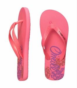 O´Neill Flip Flop camelia rose Blumen-Print
