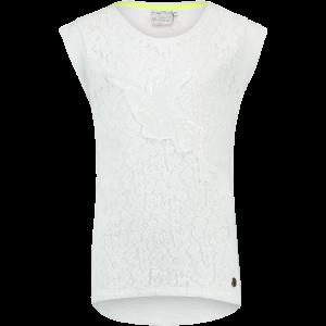 Vingino T-Shirt Spitze Pailetten HARLEEN real white