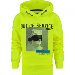Vingino Kapuzen-Sweat-Shirt / Hoodie NOPAL neon yellow