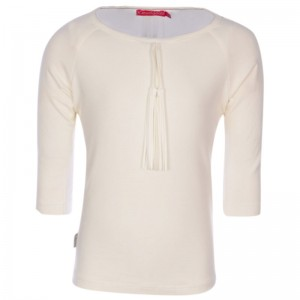 Kiezel-tje Pre-Spring 1/2-Arm-Shirt white