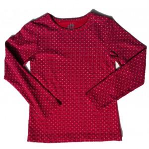 Paglie Basic Langarm-Shirt/Longsleeve Retro-Print