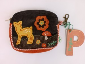 Paglie Purse braun orange