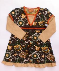 Paglie Jersey Kleid braun