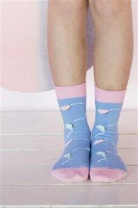 Bonnie Doon Socken PARTY blue horizon