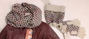 Pepe Jeans London SET Strick-Loop-Schal/Handschuhe/Mütze FANCY multicolor