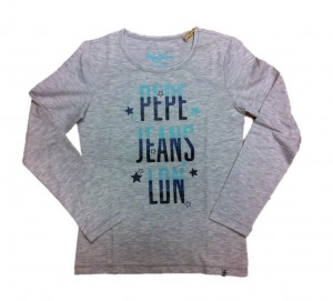 Pepe Jeans London Langarm-Shirt/Longsleeve DELANIE grey