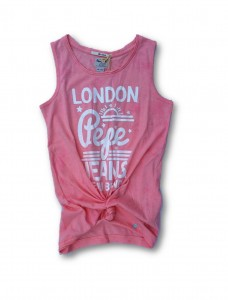 Pepe Jeans London Top FLEUR peach