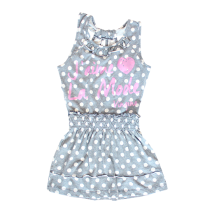 Vingino Jersey-Kleid PIP Punkte/Dots indigo blue