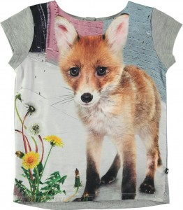 Molo Mädchen T-Shirt RUBERTHA urban fox