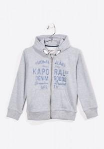 Kaporal Kapuzen-Sweat-Jacke RYDUE greymele
