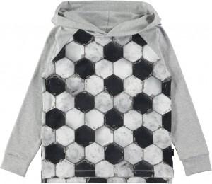 Molo Jungen Langarm-Shirt/Longsleeve RAMZIE football structure