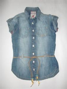 RETOUR Jeans Bluse / Tunika blue denim