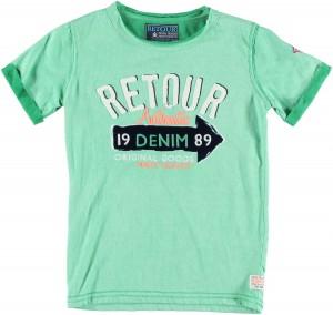 RETOUR Jeans T-Shirt BOB grün