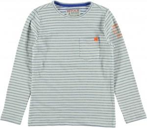RETOUR DENIM Langarm-Shirt/Longsleeve ANTONY dirty offwhite bright blue