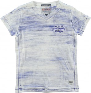 RETOUR DENIM T-Shirt ARMIN bright blue