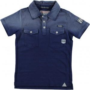 RETOUR DENIM Polo-Shirt DANO dark indigo blue