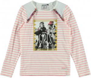 RETOUR DENIM Langarm-Shirt/Longsleeve FEBE optical white