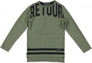 RETOUR Langarm-Shirt/Longsleeve JORRIT army