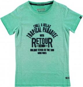RETOUR DENIM T-Shirt NATHAN fresh green