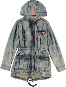 RETOUR DENIM Parka PAM denim blue