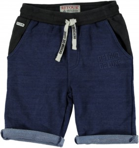 RETOUR DENIM Sweat-Bermuda RENZO B indigo blue