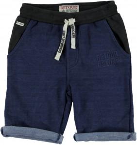 RETOUR DENIM Sweat-Bermuda RENZO B indigo blue