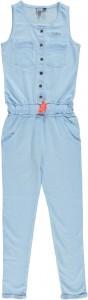 RETOUR DENIM Sweat-Jumpsuit lang WENDY A light blue