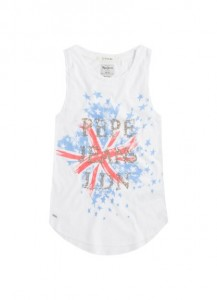 Pepe Jeans London Top EMANUELA offwhite
